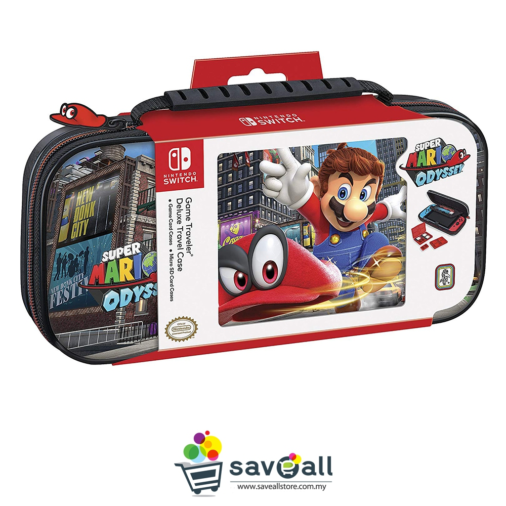 Nintendo Switch Deluxe Travel Case - Super Mario Odyssey (NNS58)