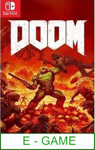 Nintendo Switch DOOM ★Brand New & Sealed★