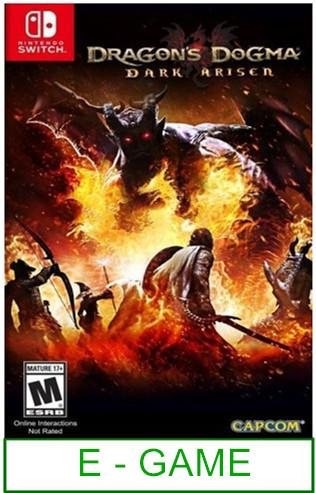 Nintendo Switch Dragon Dogma Dark Arisen ★Brand New & Sealeda..