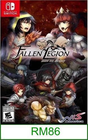 Nintendo Switch Fallen Legion Rise to Glory ★Brand New & Sealed&..