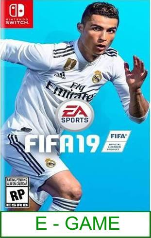 Nintendo Switch FIFA 19 ★Brand New & Sealed★