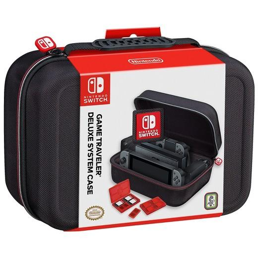 Nintendo Switch Game Traveler Deluxe System Case Bag Casing
