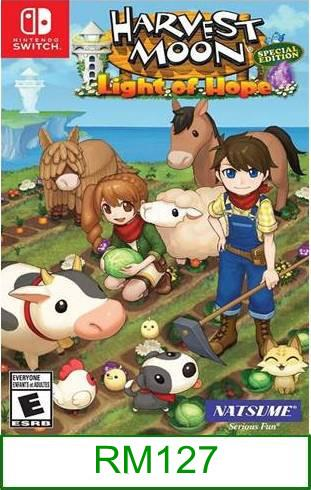 Nintendo Switch Harvest Moon Light of Hope ★Brand New & Sealed&#..