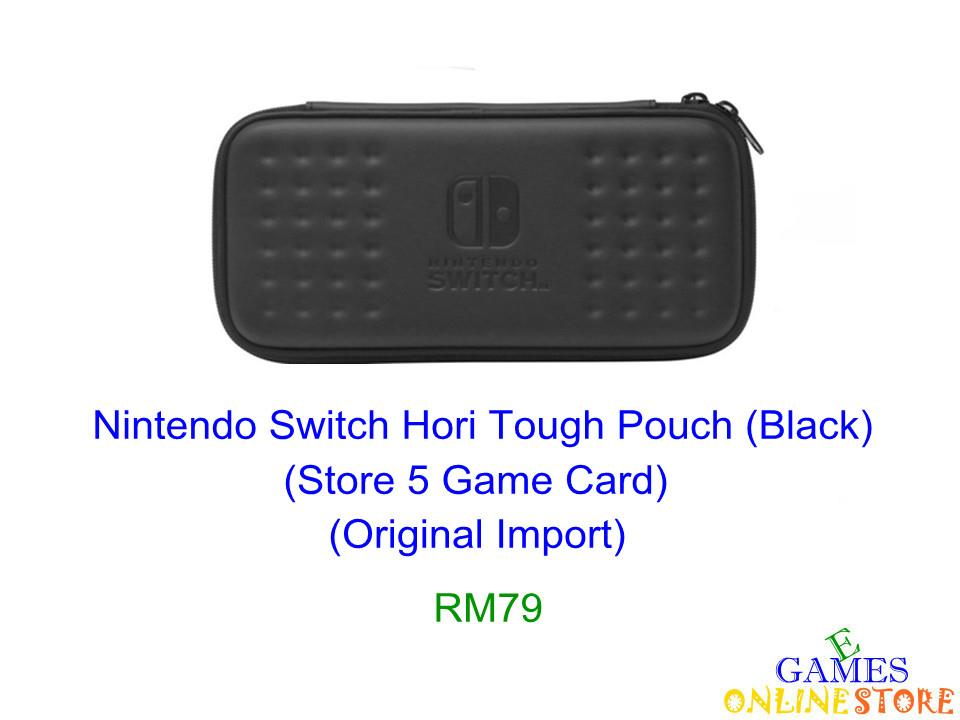 Nintendo Switch Hori Tough Pouch (Black) ★Brand New & Sealed&#97..