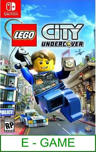 Nintendo Switch LEGO City Undercover ★Brand New & Sealed★