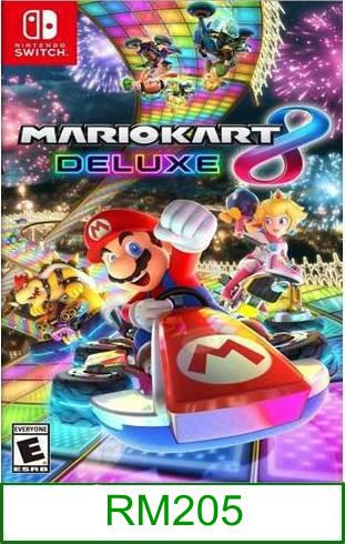 Nintendo Switch Mario Kart 8 Deluxe ★Brand New & Sealed★