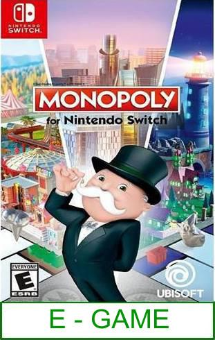 Nintendo Switch Monopoly for Nintendo Switch ★Brand New & Sealed..