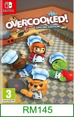 Nintendo Switch Overcooked Special Edition ★Brand New & Sealed&#..