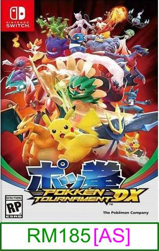 Nintendo Switch Pokken Tournament DX ★Brand New & Sealed★