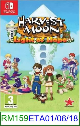 Nintendo Switch PREORDER Harvest Moon Light of Hope ★Brand New &..