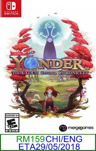 Nintendo Switch PREORDER Yonder The Cloud Catcher Chronicles ★Br..