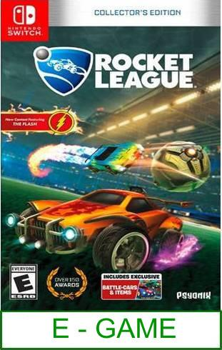 Nintendo Switch Rocket League Collector's Edition ★Brand New & S..