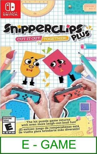 Nintendo Switch Snipperclips Plus Cut It Out, Together! ★Brand N..