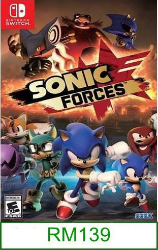 Nintendo Switch Sonic Forces ★Brand New & Sealed★