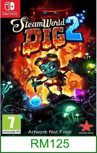 Nintendo Switch SteamWorld Dig 2 ★Brand New & Sealed★