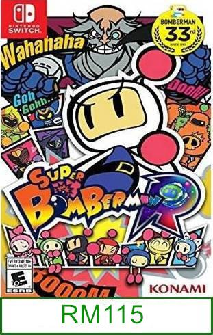 Nintendo Switch Super Bomberman R ★Brand New & Sealed★