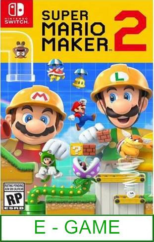 Nintendo Switch Super Mario Maker 2 ★Brand New & Sealed..