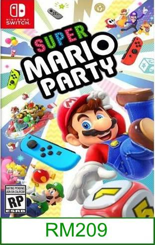 Nintendo Switch Super Mario Party ★Brand New & Sealed★