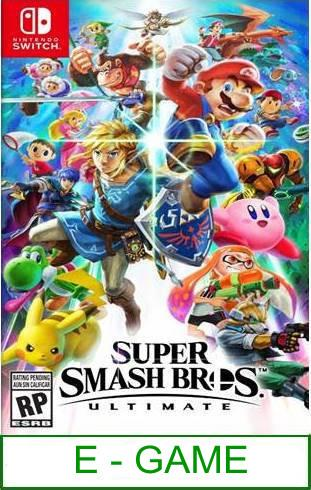 Nintendo Switch Super Smash Bros. Ultimate ★Brand New & Sealed&#..