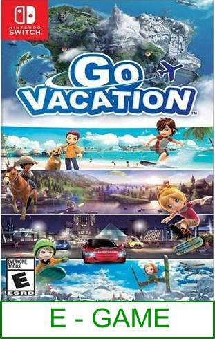 Nintendo Switch Go Vacation ★Brand New & Sealed★