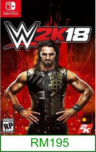 Nintendo Switch WWE 2K18 ★Brand New & Sealed★