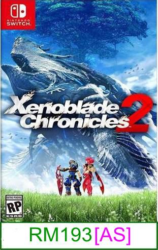 Nintendo Switch Xenoblade Chronicles 2 ★Brand New & Sealed★..