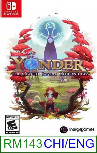Nintendo Switch Yonder The Cloud Catcher Chronicles ★Brand New &..