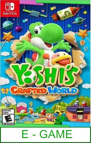 Nintendo Switch Yoshi's Crafted World ★Brand New & Sealed★