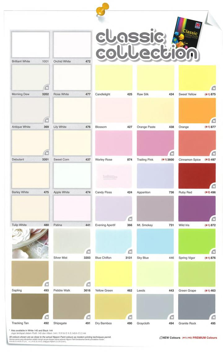 Orchid White Nippon Paint