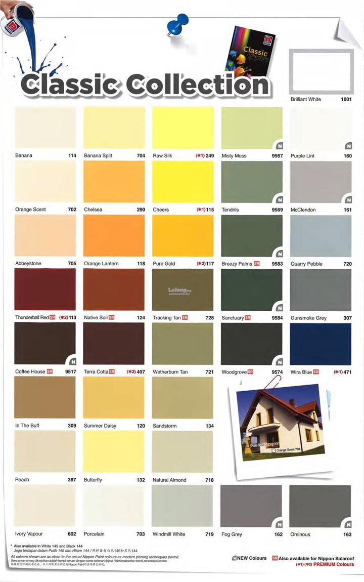Nippon Paint Q Shield Extra 5L Exterior (Classic & White Series)