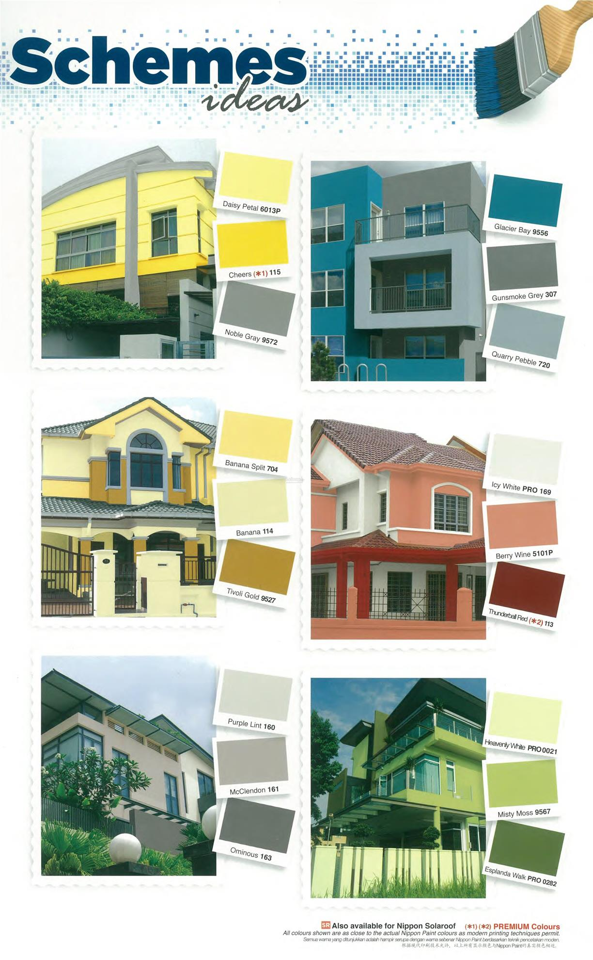 Painting my house exterior yellow inviting home design - Nippon exterior paint decor ...
