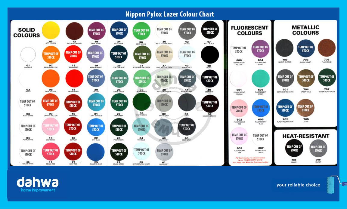 Davies Paint Philippines Color Chart Image Collections Free Any Chart Examples