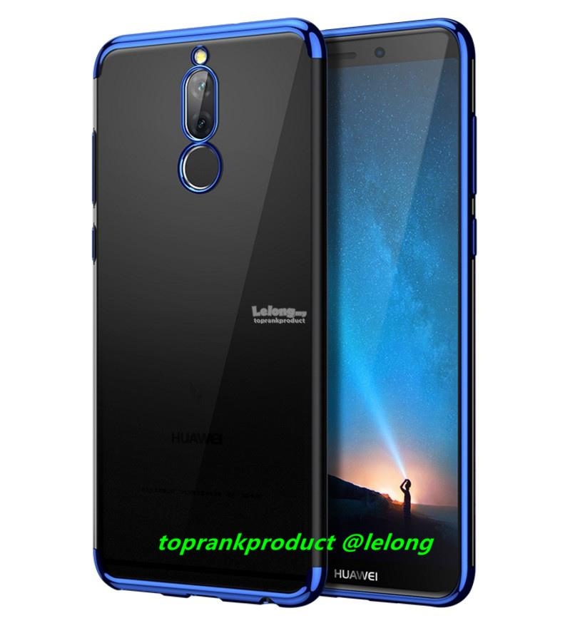 new style 4a9c6 f6e1e Nisheng Huawei Nova 2i Soft Transparent TPU Back Case Cover Casing