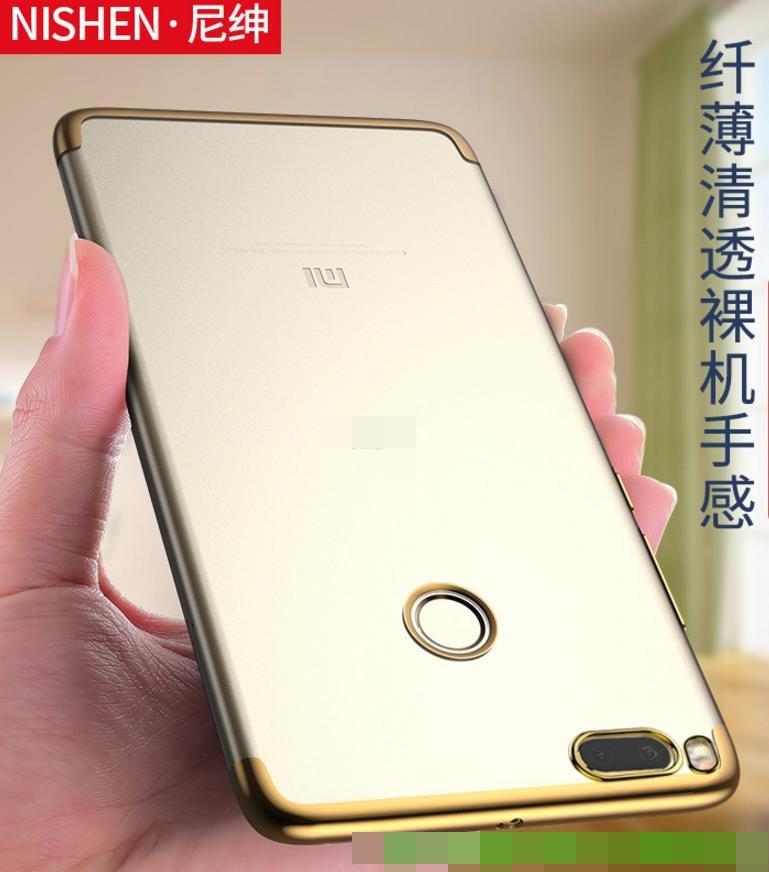 quality design 20eb6 933e2 Nisheng Xiaomi Mi 5X Mi5X Transparent Soft TPU Back Case Cover Casing