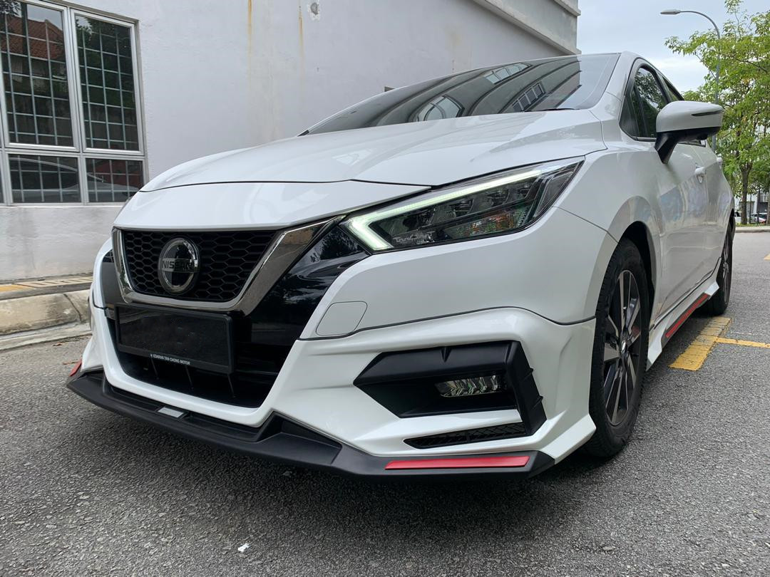 All New Nissan Almera 2020 Drive 68 Bodykit Skirting With Oem Paint