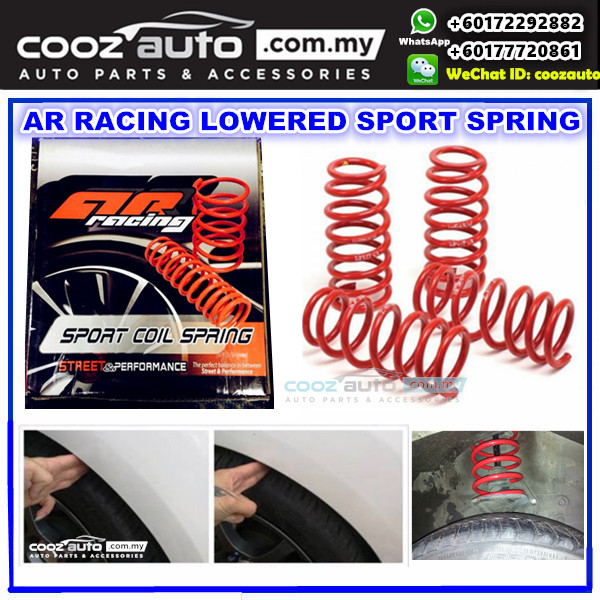 NISSAN CEFIRO A32 1996 - 2000 AR Racing Lowered Sport Coil Spring
