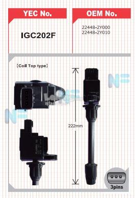 Nissan Cefiro A33 (Rear-Long) Ignition Coil