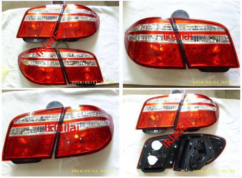 Nissan Cefiro A34 Crystal Red/Clear Tail Lamp