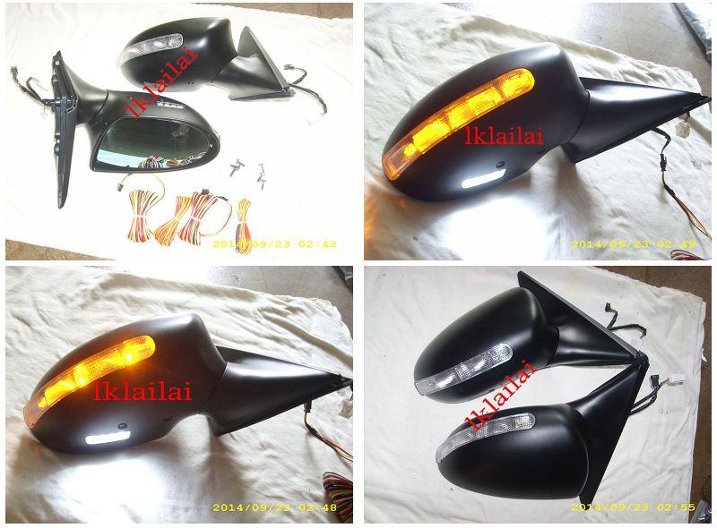 Nissan Fairlady 350Z '03-08 Door Mirror M6 Style LED Light/Foot Lamp