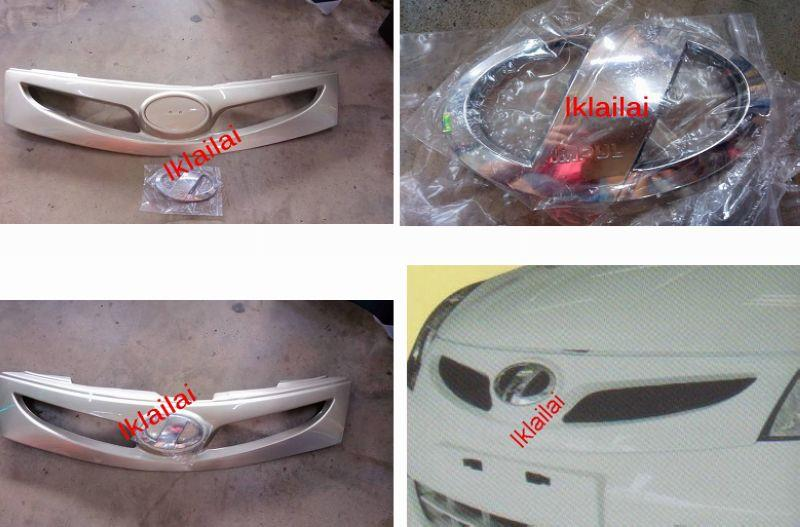 Nissan Grand Livina 2011 Impul 2 Front Grille [PU]