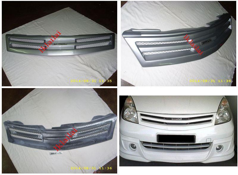 Nissan Grand Livina Impul Front Grille Painted [PU]