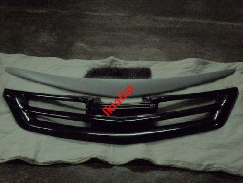 Nissan Latio Impul Front Grille & Front Lower Spoiler [ABS & Painted]