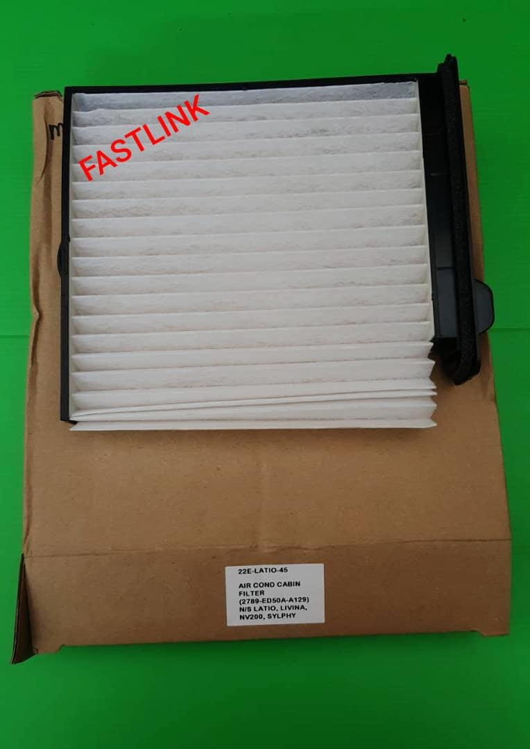NISSAN LATIO LIVINA SYLPHY  AIRCOND CABIN AIR FILTER 100% HIGH QUALITY