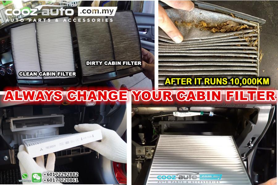 Nissan Navara D40 2004 - 2013 OSK Cabin Aircond Replacement Filter