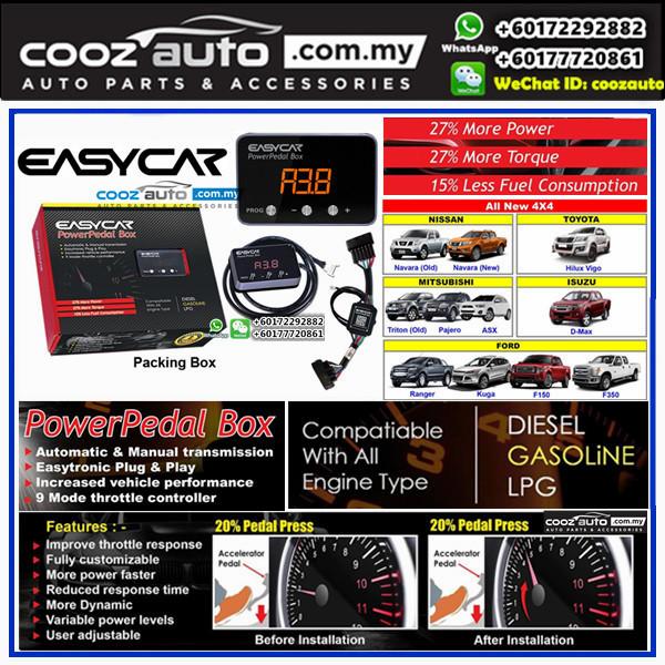 Nissan Navara NP300 2014-2016 EASYCAR Power Throttle Controller