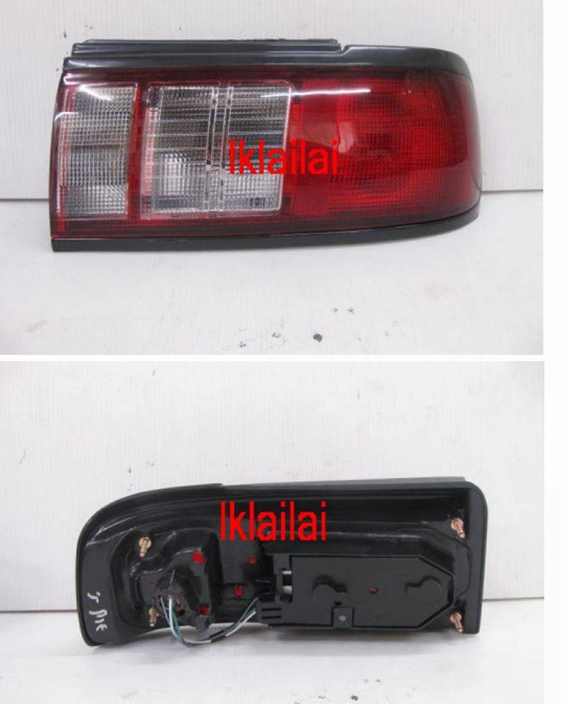 NISSAN SENTRA B13 Crystal Tail Lamp [Red/Clear]