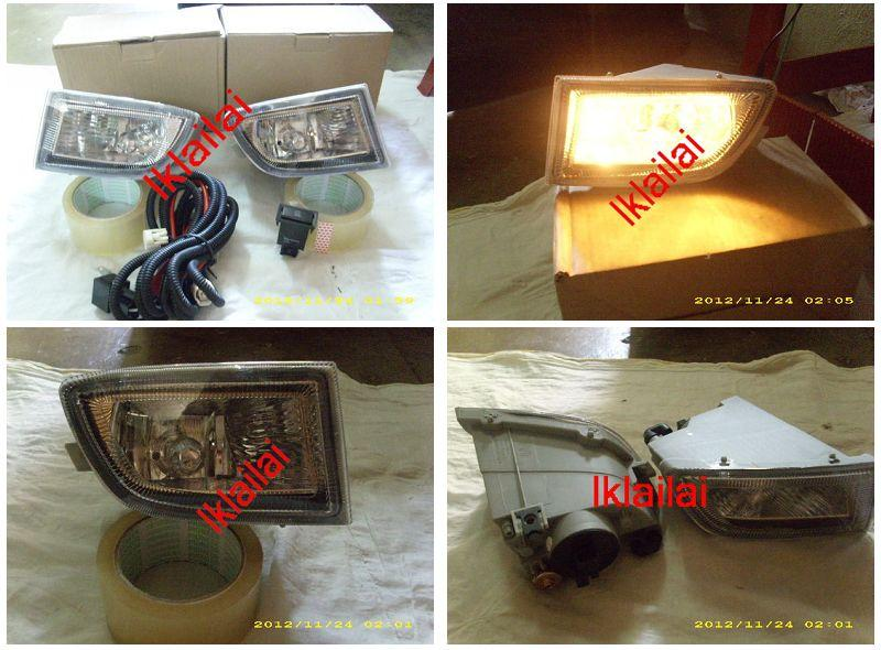Nissan Sentra N16 03 Fog Lamp Crystal With Wiring Switch
