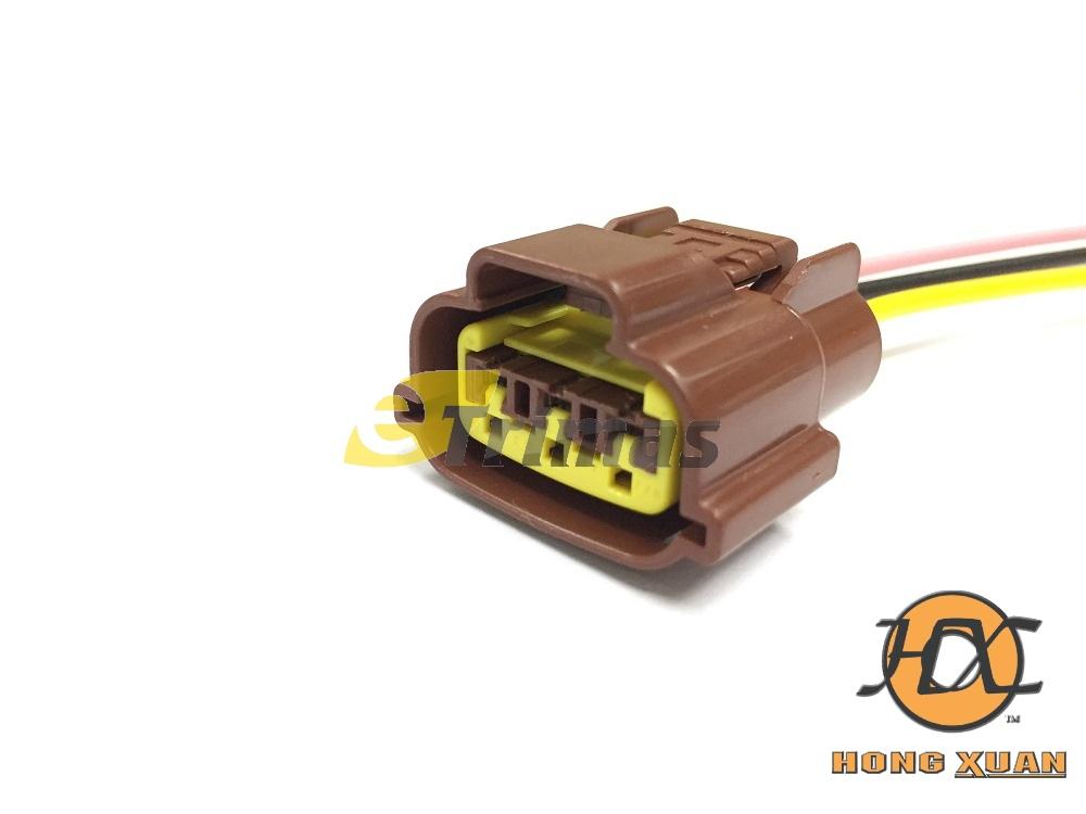 Nissan Skyline R33 Ignition Plug Coil Harness Socket Connector on