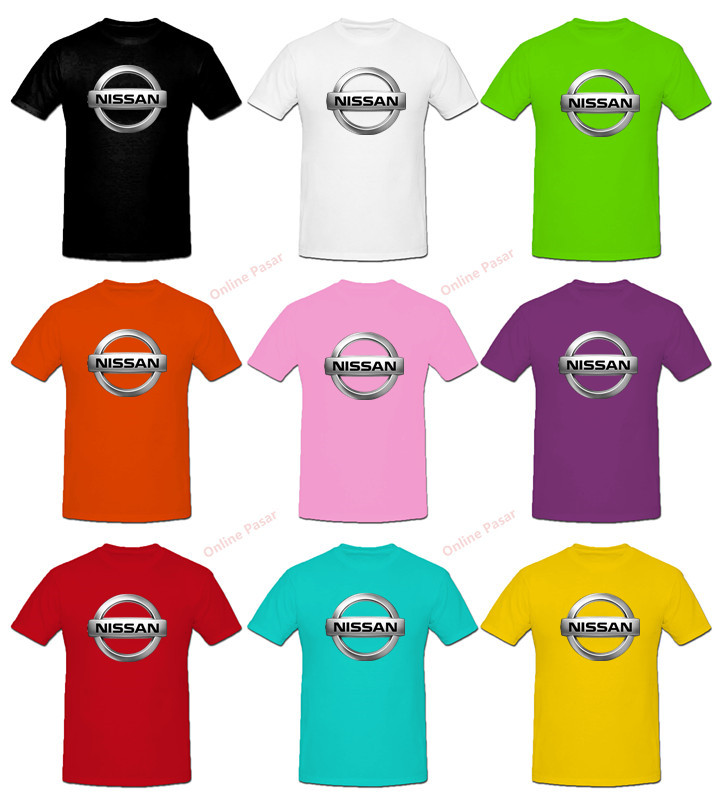 Nissan T-Shirt with 9 Colour Choices