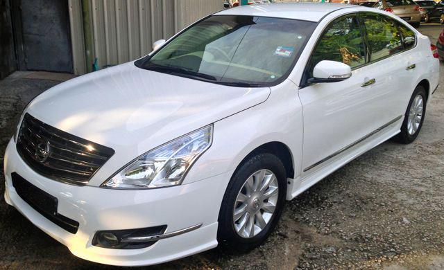 Nissan Teana 2011 Oem Bodykit Skirting Spoiler With Oem Paint